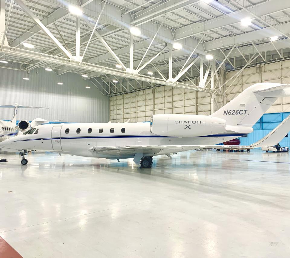 Citation X in Hanger